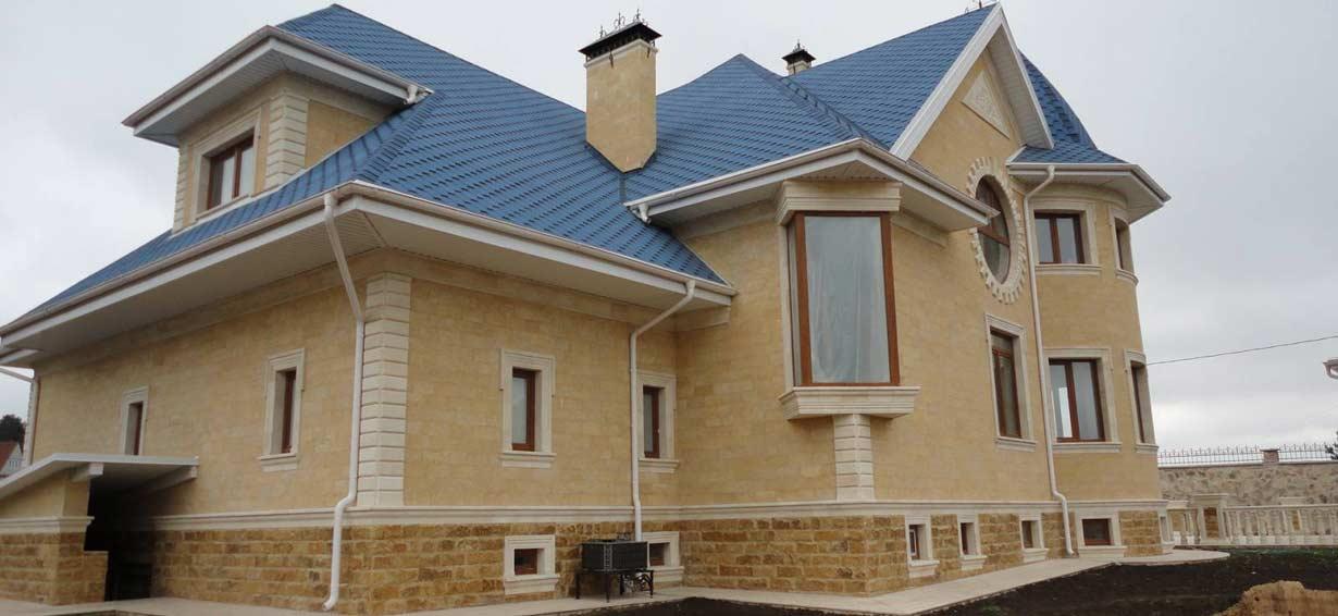 Строительство домов из ракушняка - Новый Дом