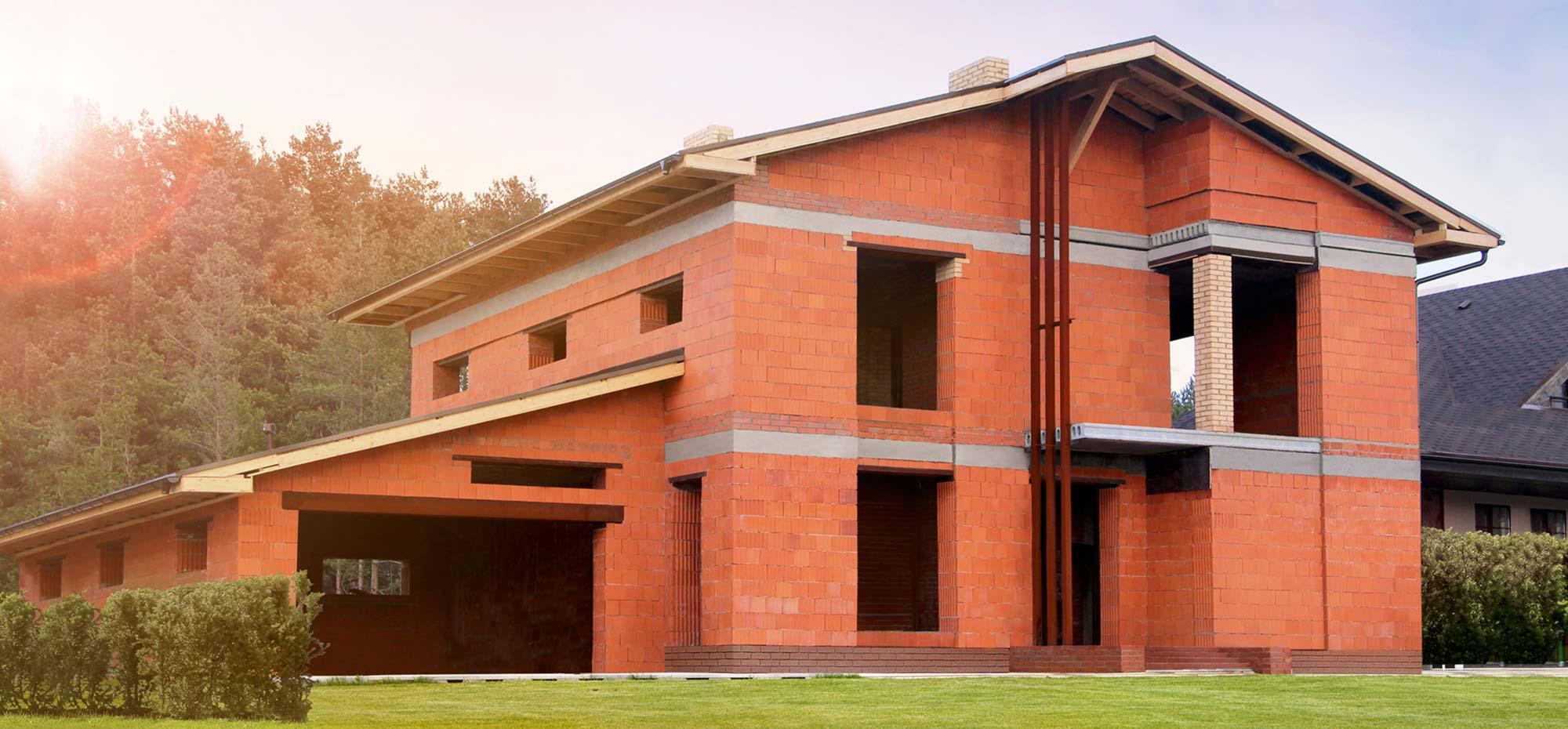 Кладка керамоблока - Строительство домов из керамоблоков